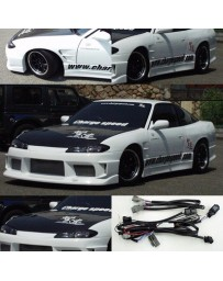 ChargeSpeed Nissan S13 to S15 Front Conversion OEM Carbon Hood