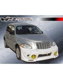 VIS Racing 2001-2004 Chrysler Pt Cruiser 4Dr Evo 5 Front Bumper