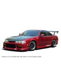 ChargeSpeed 240SX S-14 Zenki Front Bumper With Grill