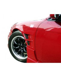 ChargeSpeed 240 S-14 240SX Kouki 20mm Widebody Front Fender