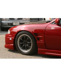 ChargeSpeed 240SX S-14 Zenki Front Fender 20MM Wide