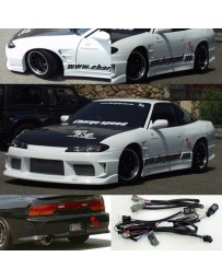 ChargeSpeed Nissan S13 to S15 Front End Conversion FRP OEM HD