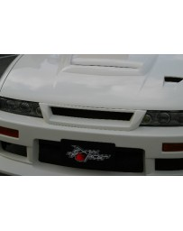 ChargeSpeed 89-94 Coupe 240SX Silvia Carbon Front Grill