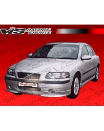 VIS Racing 2001-2009 Volvo S 60 4Dr Euro Tech Side Skirts