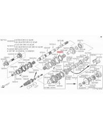300zx Z32 Nissan OEM Ring - Baulk A32B