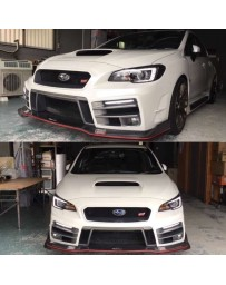 ChargeSpeed 2015-20 Subaru WRX 4Dr T3B FullKit FRP
