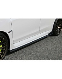 ChargeSpeed 15-20 WRX STi 4D BottomLine Carbon T2 Side Skirts