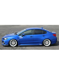 ChargeSpeed 15-20 WRX STi 4D BottomLine Carbon T1 Side Skirts