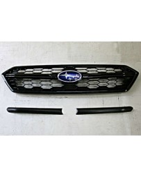 ChargeSpeed 2018-2020 WRX/ STi Sedan Front Grill Finisher Carb