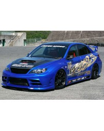 ChargeSpeed 11-14 STi GRB 4Drs Sedan Super GT Wide Body Kit