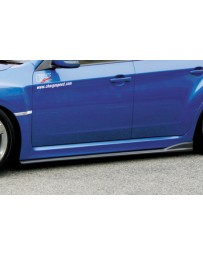 ChargeSpeed 08-14 WRX STi GR-B Bottom Line T-2 CF Side Skirts