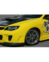 ChargeSpeed 08-14 WRX STi GR GV GT Sty Front Fenders 20mm Wide