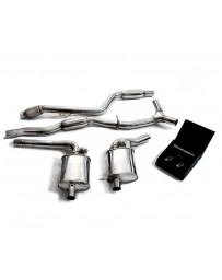 ARMYTRIX Stainless Steel Valvetronic Exhaust System Mercedes Benz C300 W205 Left Hand Drive 2018-2019