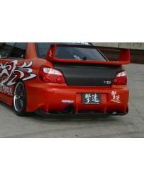 ChargeSpeed Impreza Type-2 Rear Bumper With Carbon Diffuser