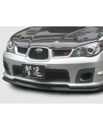 ChargeSpeed Subaru Bottom Line Front Lip Type-1 for STi FRP