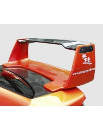 ChargeSpeed 02-07 Subaru WRX Full Wing 3D With 3D Carbon Top