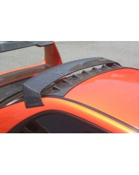 ChargeSpeed Impreza WRX Carbon Roof Vane Wing