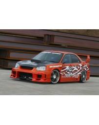 ChargeSpeed 04-05 Impreza Super GT Wide Body Kit 3D Full KIT