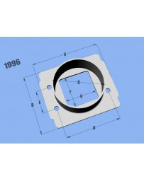 Vibrant Performance Mass Air Flow Sensor Adapter Plate, for Toyota Applications & Vehicles Equipped with Bosch MAF sensors