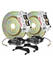 Focus ST 2013+ Brembo GT Series Slotted Silver 1-Piece Rotor Front Brake Kit
