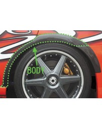 ChargeSpeed Impreza WRX FRP Body Over Fenders