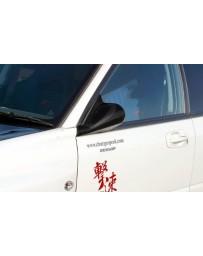 ChargeSpeed Impreza WRX Carbon LHD Aero Mirrors