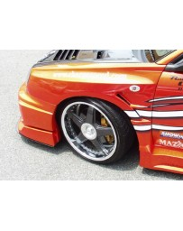 ChargeSpeed Impreza WRX D1 Style 20MM Front Fenders