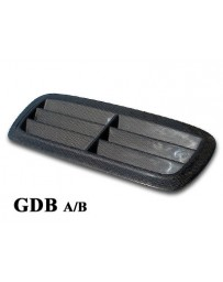 ChargeSpeed Impreza WRX Carbon Outlet Style Hood Duct