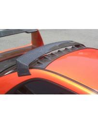 ChargeSpeed Impreza WRX Carbon Roof Vane Wing