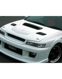 ChargeSpeed Subaru Impreza WRX GC-8 Carbon Side Hood Air Duct