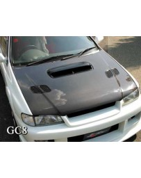 ChargeSpeed Subaru Impreza WRX GC-8 Carbon OEM Hood
