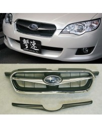 ChargeSpeed 2008-2009 Legacy Sedan Wagon BL/BP Grill Finisher