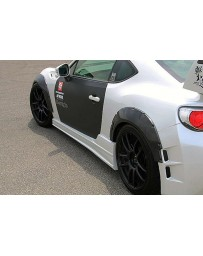 ChargeSpeed BRZ T1 Bumper Kit Carbon Over Fenders