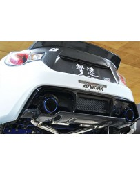 ChargeSpeed Subaru BRZ Scion FRS Exhaust System