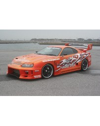 ChargeSpeed Toyota Supra Super GT Wide Body JZA-80 Full Kit