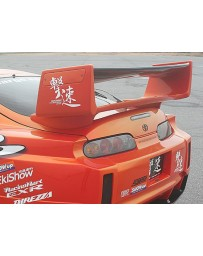 ChargeSpeed Supra JZA-80 Super GT Wing With Carbon Top