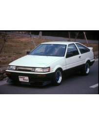 ChargeSpeed 86-87 Coupe Levin Non-Flip Light AE-86 Front Lip