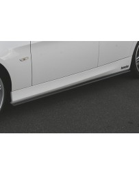 ChargeSpeed 2005-2008 BMW E90 3 SERIES SEDAN CARBON SIDE SKIRT