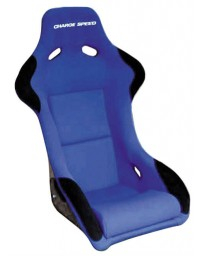 ChargeSpeed Bucket Racing Seat Sport Type Carbon Blue