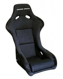 ChargeSpeed Bucket Racing Seat Sport Type Carbon Black