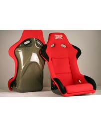 ChargeSpeed Bucket Racing Seat Sport Type Kevlar Red OG