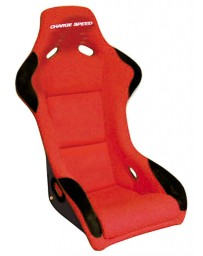 ChargeSpeed Bucket Racing Seat Sport Type Kevlar Red