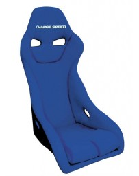 ChargeSpeed Bucket Racing Seat Genoa-S Type Carbon Blue