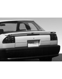 VIS Racing 1991-1995 Saturn Sl 4Dr. Factory Style Wing No Light