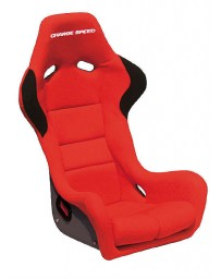 ChargeSpeed Bucket Racing Seat Spiritz SR Type FRP Red