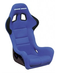 ChargeSpeed Bucket Racing Seat Spiritz SS Type Carbon Blue