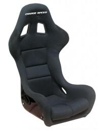 ChargeSpeed Bucket Racing Seat Spiritz SS Type Carbon Black