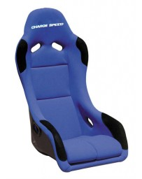 ChargeSpeed Bucket Racing Seat EVO X Type Carbon Blue
