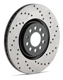 Focus ST 2013+ StopTech Drilled AeroRotors Zinc Coating