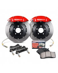 Focus ST 2013+ StopTech Slotted Performance Front Big Brake Kit